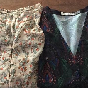 Lot of two blouses